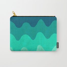 Under the Influence (Marimekko Curves) Seaside Carry-All Pouch