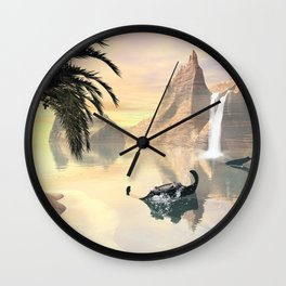 Mantas Wall Clock