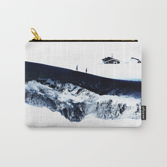 Hiking for Winter Carry-All Pouch
