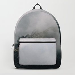 Mountain Range in the Clouds - Landscape Photography Backpack