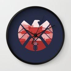 The Captain (SHIELD) Wall Clock