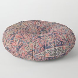 Traditional vibrant rug Floor Pillow