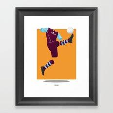 Burnley 2013/14 -  Framed Art Print