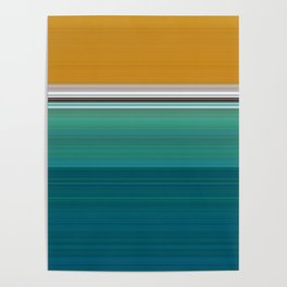 Swimming Pool Abstract Poster
