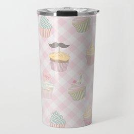 Cupcakes pattern Travel Mug