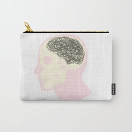 MESS UP MY MIND Carry-All Pouch