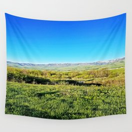 Summer Day in Utah Wall Tapestry