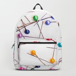 Colorful straight pins Backpack