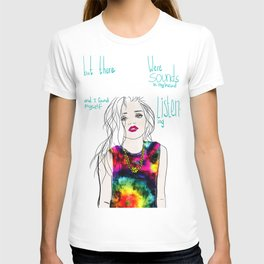 sounds in my head T-shirt