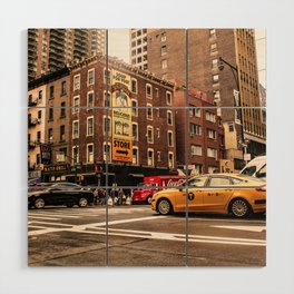 ArtWork New York City USA Art work photo Wood Wall Art