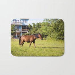 Horse in Corolla Bath Mat