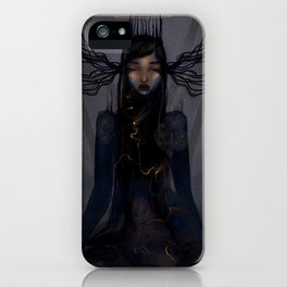 Light within the darkness iPhone Case