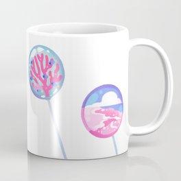 Ocean Blue Lollipop Coffee Mug
