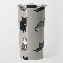 Gus and Winnie - Cat Buddies Travel Mug