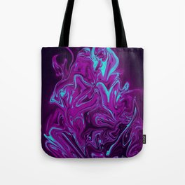 "ABSTRACT LIQUIDS XXXII ""32"" Tote Bag"