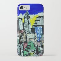 buildings iPhone & iPod Cases featuring buildings by Halley's Coma