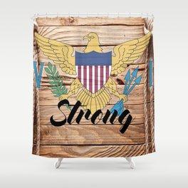 Virgin Islands Strong Shower Curtain