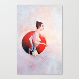 Eves Project, Nude female anatomy, NYC artist Canvas Print