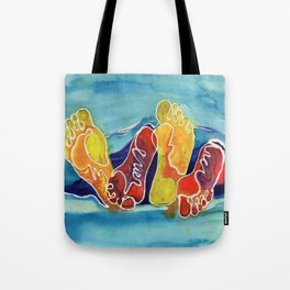 Our Feet Tote Bag