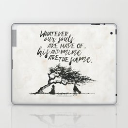 Wuthering Heights - Souls Laptop & iPad Skin