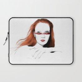 Love Girls - Blood redhead Laptop Sleeve