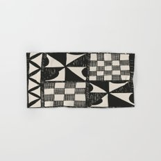Tapa Cloth | Pacifica Patterns | Tribal Art Hand & Bath Towel