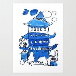 Chinese Palace Art Print