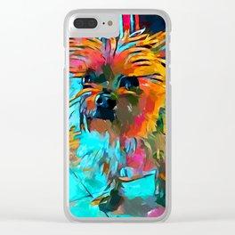 Shih Tzu 3 Clear iPhone Case