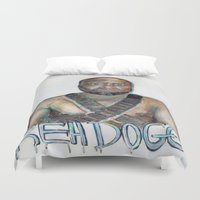 youtube Duvet Covers featuring YouTube Sensation by Reh Dogg Gallery