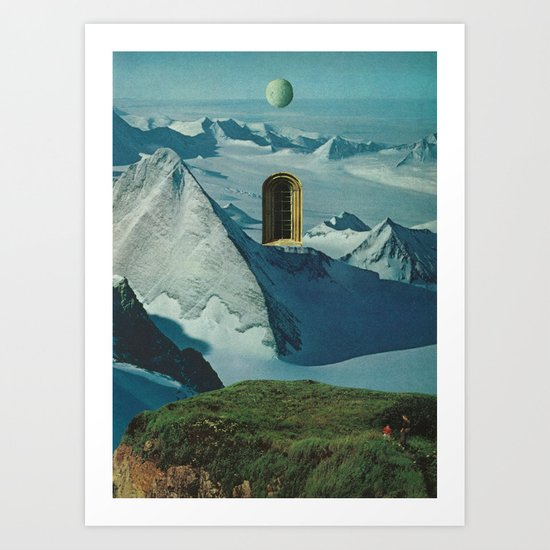 Elevated Observations 1 Art Print