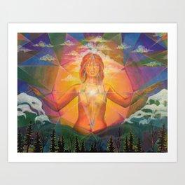 Eternal Sunrise Art Print