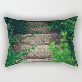 Greenery Stairs Rectangular Pillow