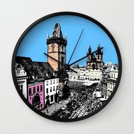 Prague old city Wall Clock