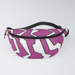 Electric Pink Polynoise Fanny Pack