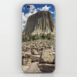 Rocky Path to Devils Tower iPhone Skin
