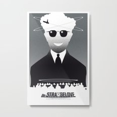 Dr STRANGELOVE-black version (SK Films) Metal Print