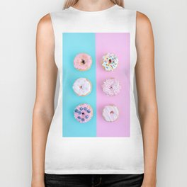 Sweet doughnuts Biker Tank
