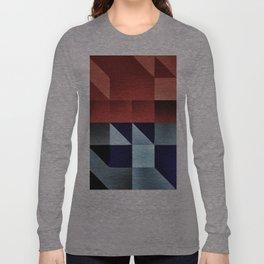 :: geometric maze IX :: Long Sleeve T-shirt