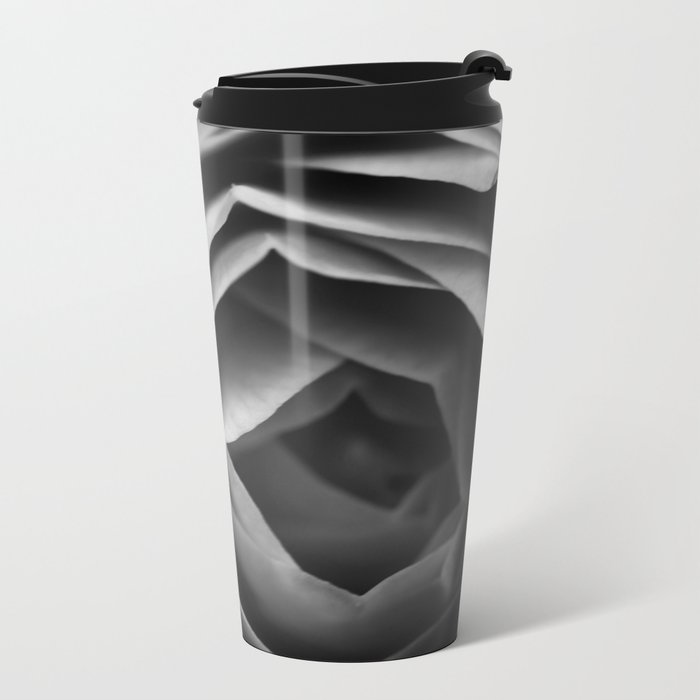 Pfingstrose Metal Travel Mug