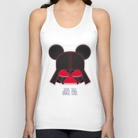 vader Tank Tops featuring Vader  by danvinci