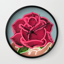 Neon Dream Wall Clock
