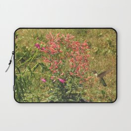 Hummingbird flower 28 Laptop Sleeve