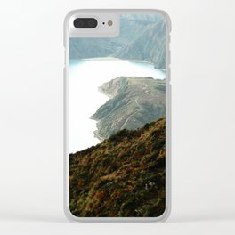 Fire Lake Clear iPhone Case