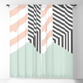 Mint Room #society6 #decor #buyart Blackout Curtain