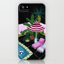 A night in Palm Spring iPhone Case