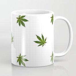 Cannabis Leaf (Mini) - White Coffee Mug