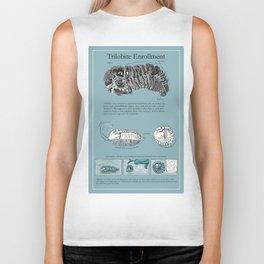 Trilobite Enrollment poster Biker Tank
