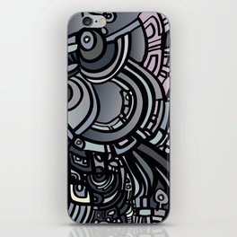 ROBOTS OF THE WORLD iPhone Skin