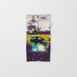 Controversy Prince Deep Purple Abstract Painting Modern Art Hand & Bath Towel