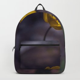 Yellow Tulip in The Forest Backpack